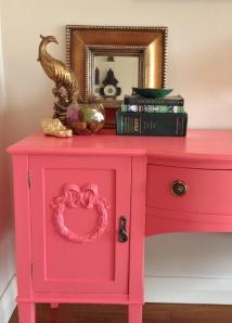 Pink desk 12