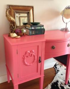 Pink desk 16