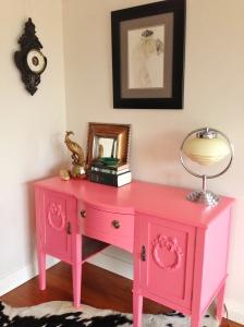 Pink desk 18