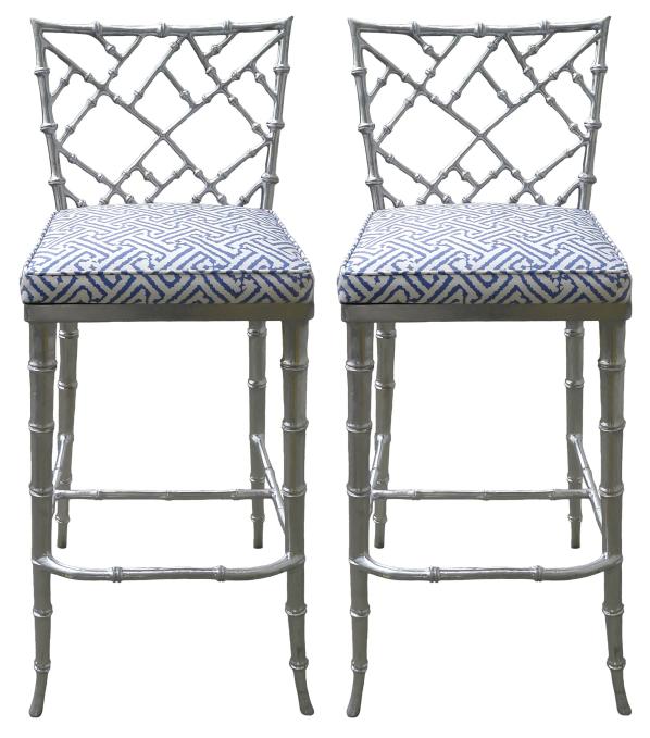 Phyllis Morris Silver Bamboo Barstools - Pair.png